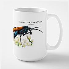 Tarantula Hawk Wasp Large Mug