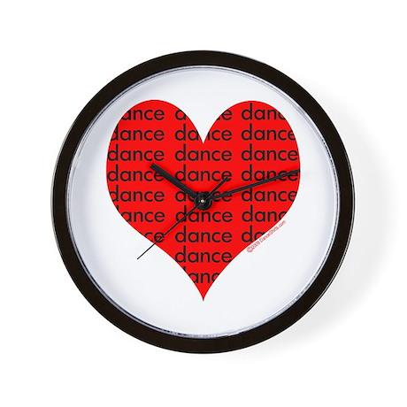Dance Heart Wall Clock