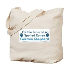 Spoiled Rotten Poodle Tote Bag