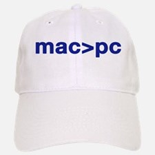MAC > PC Baseball Baseball Cap