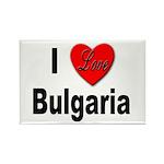 I Love Bulgaria Rectangle Magnet (10 pack)