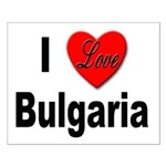 I Love Bulgaria Small Poster