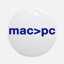 MAC > PC Ornament (Round)
