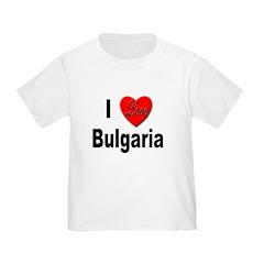I Love Bulgaria T