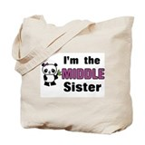 Middle sister Canvas Totes