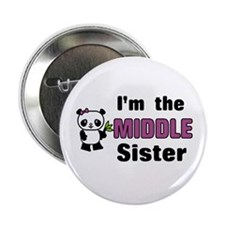 """Middle Sister 2.25"""" Button"""