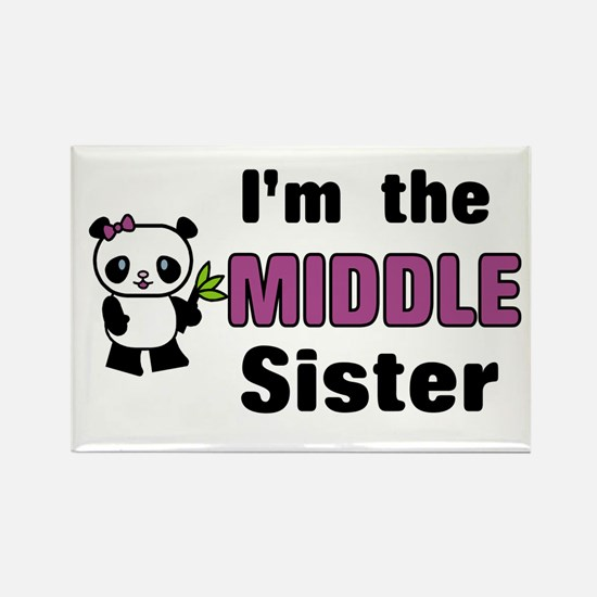 Middle Sister Rectangle Magnet
