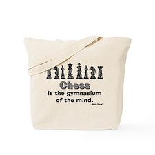 Chess Player Tote Bag