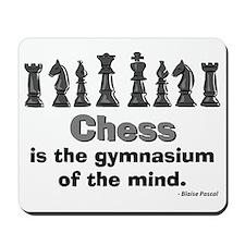 Chess Player Mousepad