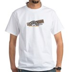 Steel Belted Radio White T-Shirt