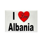 I Love Albania Rectangle Magnet (10 pack)