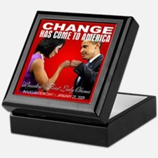 CHANGE-Fist Bump Keepsake Box