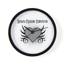BrainCancerSurvivor Tattoo Wall Clock