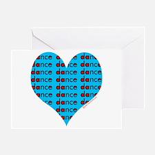 Dance Heart Greeting Card