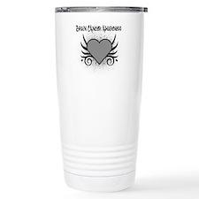Brain Cancer Awareness Travel Coffee Mug