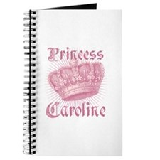 Vintage Princess Caroline Personalized Journal