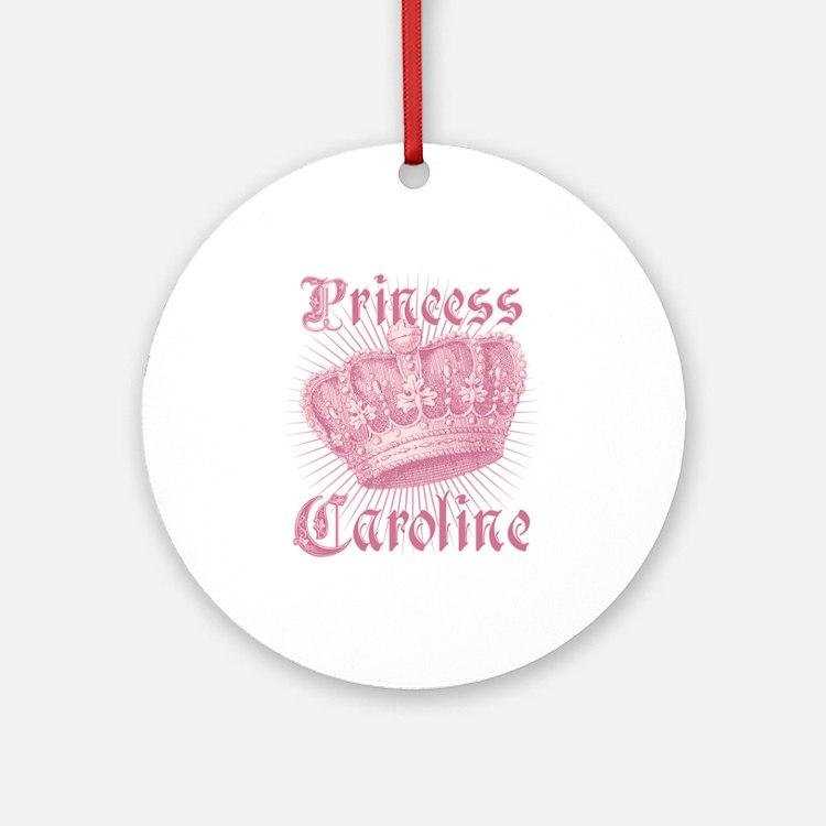 Vintage Princess Caroline Personalized Ornament (R