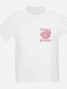 Vintage Princess Caroline Personalized T-Shirt