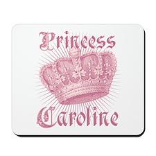 Vintage Princess Caroline Personalized Mousepad