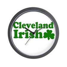 Cleveland Irish Wall Clock