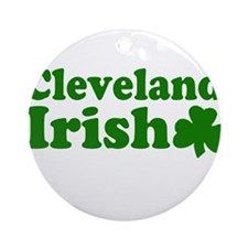 Cleveland Irish Ornament (Round)