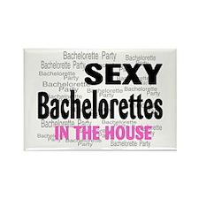 Bachelorettes Rectangle Magnet