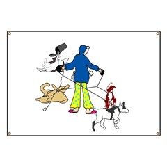 Walking Flyball Dogs Banner