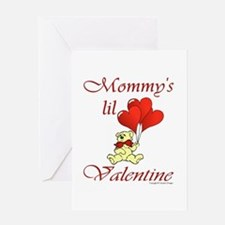 Mommy's lil Valentine Greeting Card