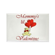 Mommy's lil Valentine Rectangle Magnet