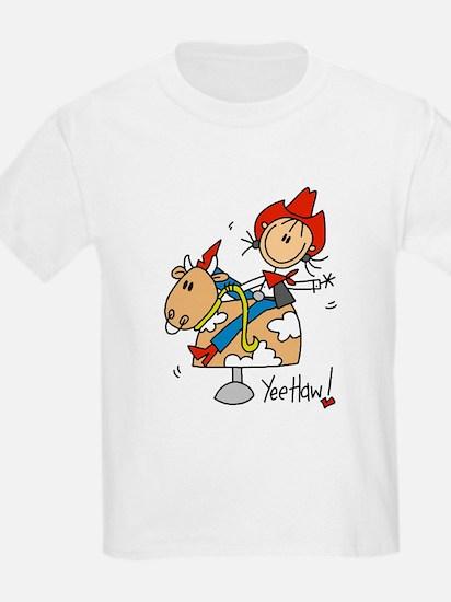 Cowgirl Mechanical Bull T-Shirt