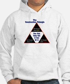 Construction Triangle Hoodie