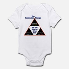Construction Triangle Infant Bodysuit