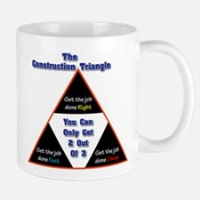 Construction Triangle Mug