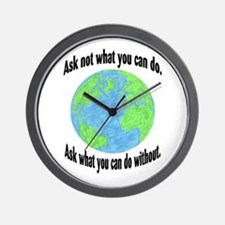 Ask not what you can do... Wall Clock