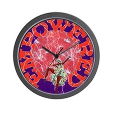 Empowered Woman Wall Clock