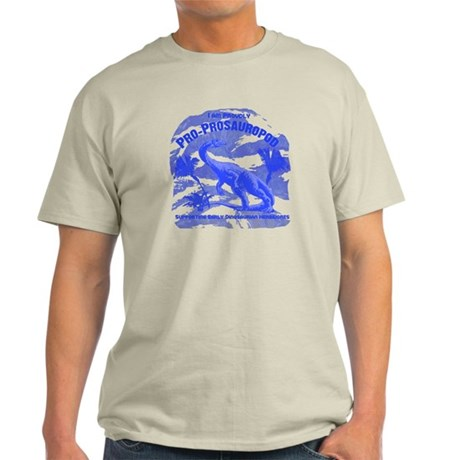 Blue Pro-Prosauropod Light T-Shirt