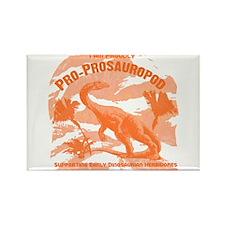 Blue Pro-Prosauropod Rectangle Magnet