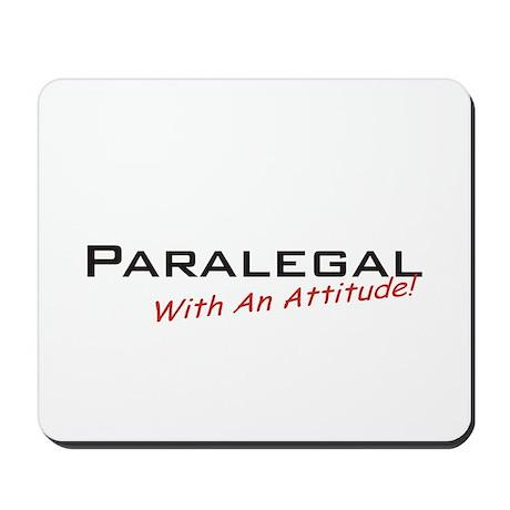 Paralegal / Attitude Mousepad