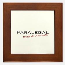 Paralegal / Attitude Framed Tile