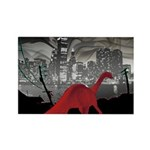 Urban Sauropod Rectangle Magnet (10 pack)