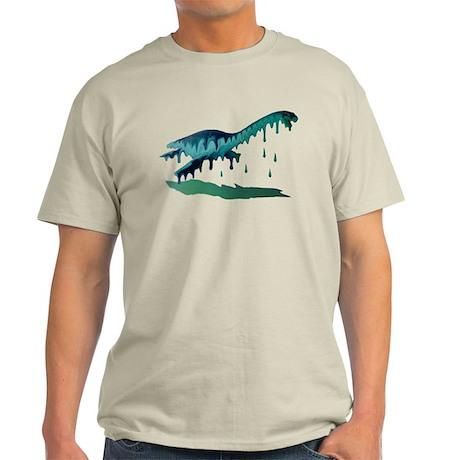 Melting Plesiosaur Light T-Shirt