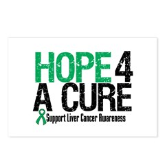 Hope4ACure LiverCancer Postcards (Package of 8)