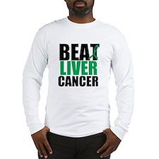 Beat Liver Cancer Long Sleeve T-Shirt