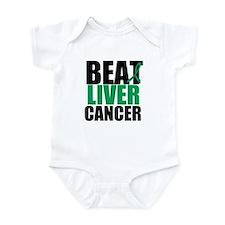 Beat Liver Cancer Infant Bodysuit