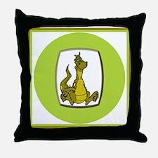Kid's Dragon 2 Throw Pillow