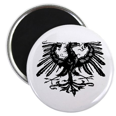 Gothic Prussian Eagle Magnet
