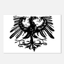 Gothic Prussian Eagle Postcards (Package of 8)