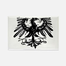Gothic Prussian Eagle Rectangle Magnet