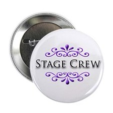 """Stage Crew Name Badge 2.25"""" Button (10 pack)"""