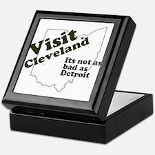 Visit Cleveland, Not as Bad a Keepsake Box